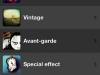 Die Kategorien der Filer in der AremaC-Foto-App