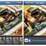 Auch die Instagram-Foto-App ermöglicht den Effekt